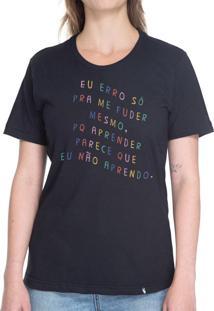 Eu Erro - Camiseta Basicona Unissex