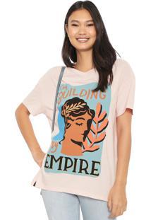 Camiseta Cantão Empire Rosa