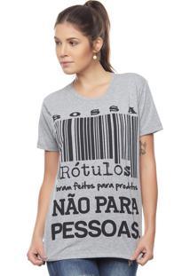 Camiseta Bossa Brasil Rótulos Mescla - Kanui