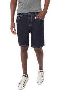 Bermuda Jeans Colcci Reta Benjamin Azul-Marinho