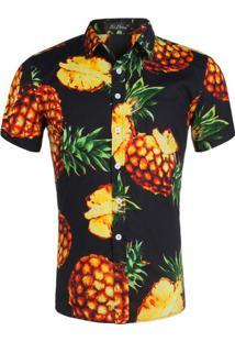 Camisa Estampada Masculina - Floral M