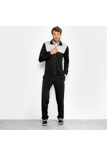Agasalho Adidas Back2Basics Masculino - Masculino-Chumbo+Cinza