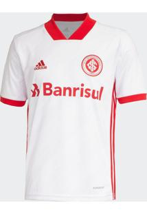 Camisa Infantil Adidas Internacional 2 2020 S/N Branco/Vermelho - Pp