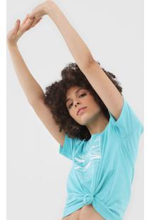 Camiseta Lacoste Geométrica Azul - Kanui