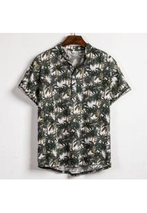 Camisa Havaiano Henley - Palm