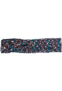 Maison Michel Headband De Tweed - Estampado
