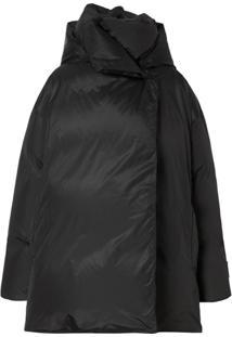 Burberry Oversized Padded Coat - Preto