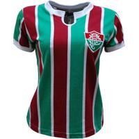 Camisa Liga Retrô Fluminense 1976 Feminino - Feminino a353f80fd9db6