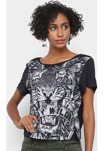 Camiseta My Favorite Things Tigre Stay Wild Feminina - Feminino