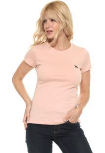 Camiseta Acostamento Lisa Rosa