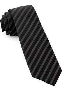 Gravata Slim Black Expert - Spc79