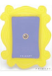 Porta Retrato Friendsâ®- Amarelo- 18X23X1Cm- Urbaurban