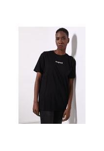 Camiseta Desigual Sonar Preta