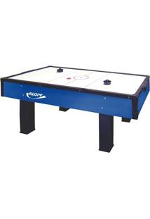 Mesa Klopf De Aero Hockey - Unissex-Azul+Branco