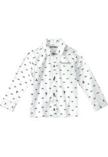 Camisa Tigor T. Tigre Branco