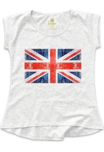 Camiseta Cool Tees Viagem Feminina - Feminino-Mescla Claro