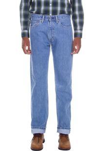 Calça Jeans Levis 505 Regular Azul