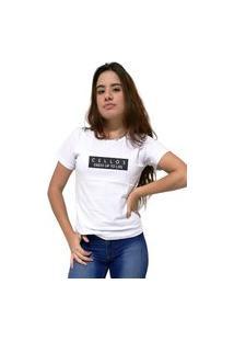 Camiseta Feminina Cellos To Life Premium Branco