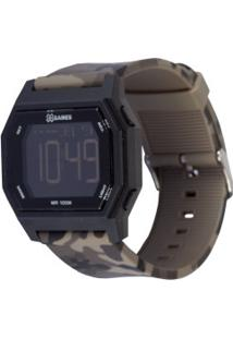 Relógio Digital X Games Xgppd134 - Unissex - Preto/Verde