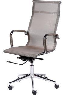 Cadeira Office Eames Em Tela- Cobre- 112,5X61X46,5Cmor Design