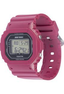 Relógio Digital Mormaii Mo0300 - Feminino - Rosa Escuro