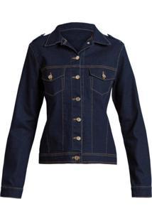 Jaqueta Quintess Jeans Azul