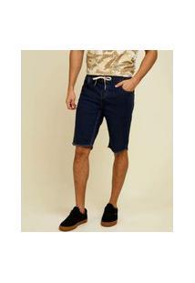 Bermuda Masculina Barra Desfiada Razon Jeans