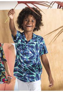 Camisa Infantil Menino Puc Lab Por Lenny Niemeyer
