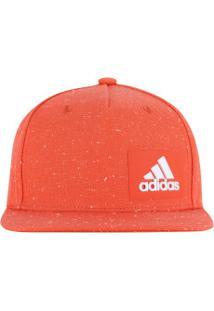 Boné Aba Reta Adidas H90 Melange - Snapback - Adulto - Laranja 7f02c6a616c