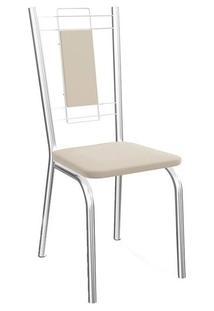 Cadeira Kappesberg Florença 2C005Cr (2 Uni) Cromada/Nude