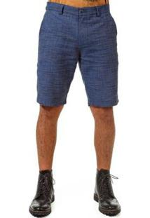 Bermuda Docthos Flame Masculina - Masculino-Azul Escuro