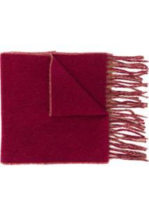 Vivienne Westwood Cachecol Com Estampa De Logo - Vermelho