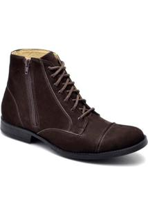 Bota Top Franca Shoes Casual - Masculino-Marrom