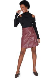 Saia Leather Curta Cinto