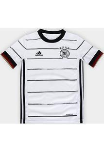 Camisa Seleção Alemanha Infantil Home 20/21 S/Nº Torcedor Adidas - Masculino