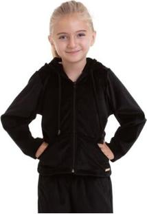 Casaco Infantil Plush Best Fit - Feminino