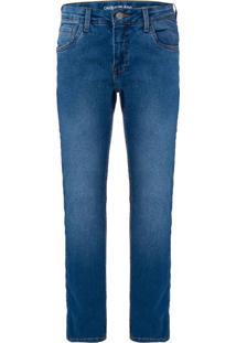 Calça Jeans Five Pockets Skinny - Azul Claro - 2