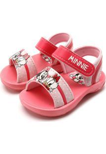 Papete Grendene Kids Menina Disney Cute Rosa