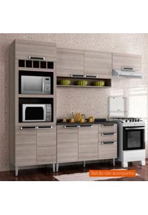 Cozinha Compacta Jazz Ll 6 Pt Coimbra E Bege