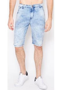 Bermuda Jeans Blue Soft Emporio Alex Jeans Off-White