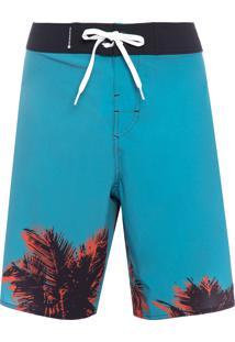 Bermuda Masculina Surf Lebon Sunset - Azul