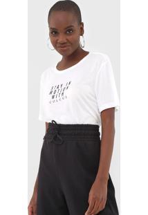 Camiseta Colcci Motion Off-White
