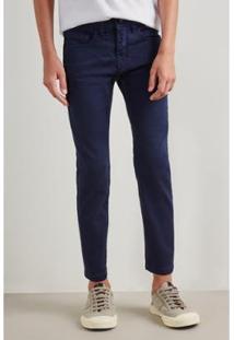 Calça Mini Pf Skinny Color Ver19 Reserva Mini - Masculino-Marinho