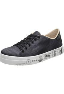 Slippers Estampa Jeans Stefanello Tor02 Preto