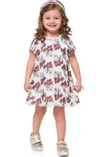 Vestido Infantil Milon Off White