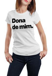 Camiseta Hunter Dona De Mim Branca