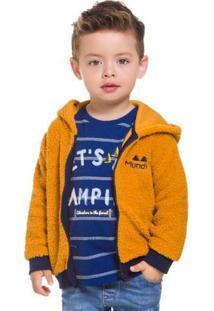Jaqueta Infantil Amarelo