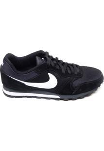 Tênis Masculino Corrida Md Runner 2 Nike Preto