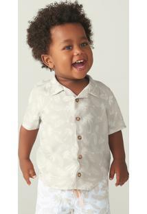 Camisa Bebê Menino Comfort Estampada