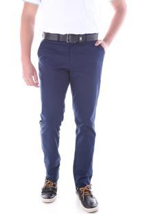 Calça 3015 Sarja Azul Traymon Modelagem Slim